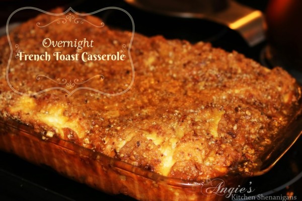 pics French Toast Casserole With Blueberry Syrup