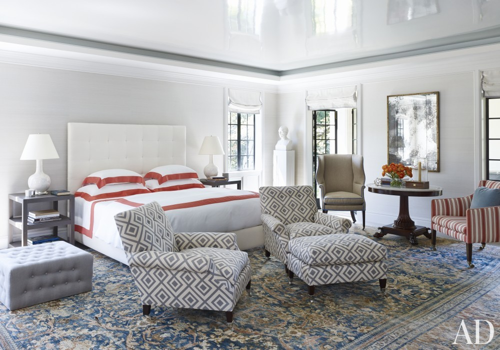 Bedroom by Bruce Budd and Bute King Architects in Houston, TX