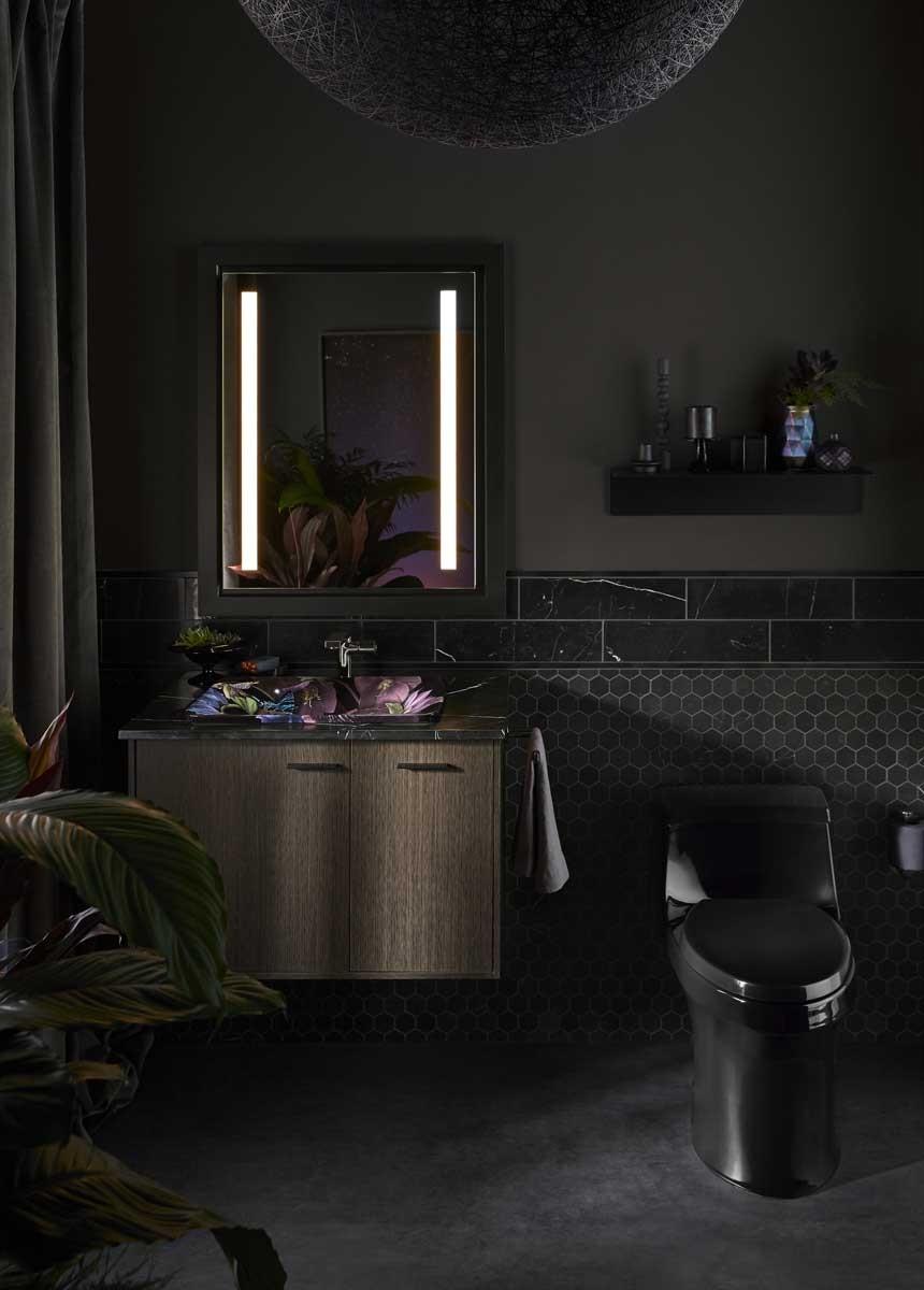 Dutch Floral Bathroom Kohler Ideas