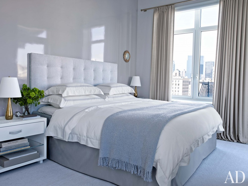 Modern Bedroom and Shelton, Mindel & Associates in New York, NY