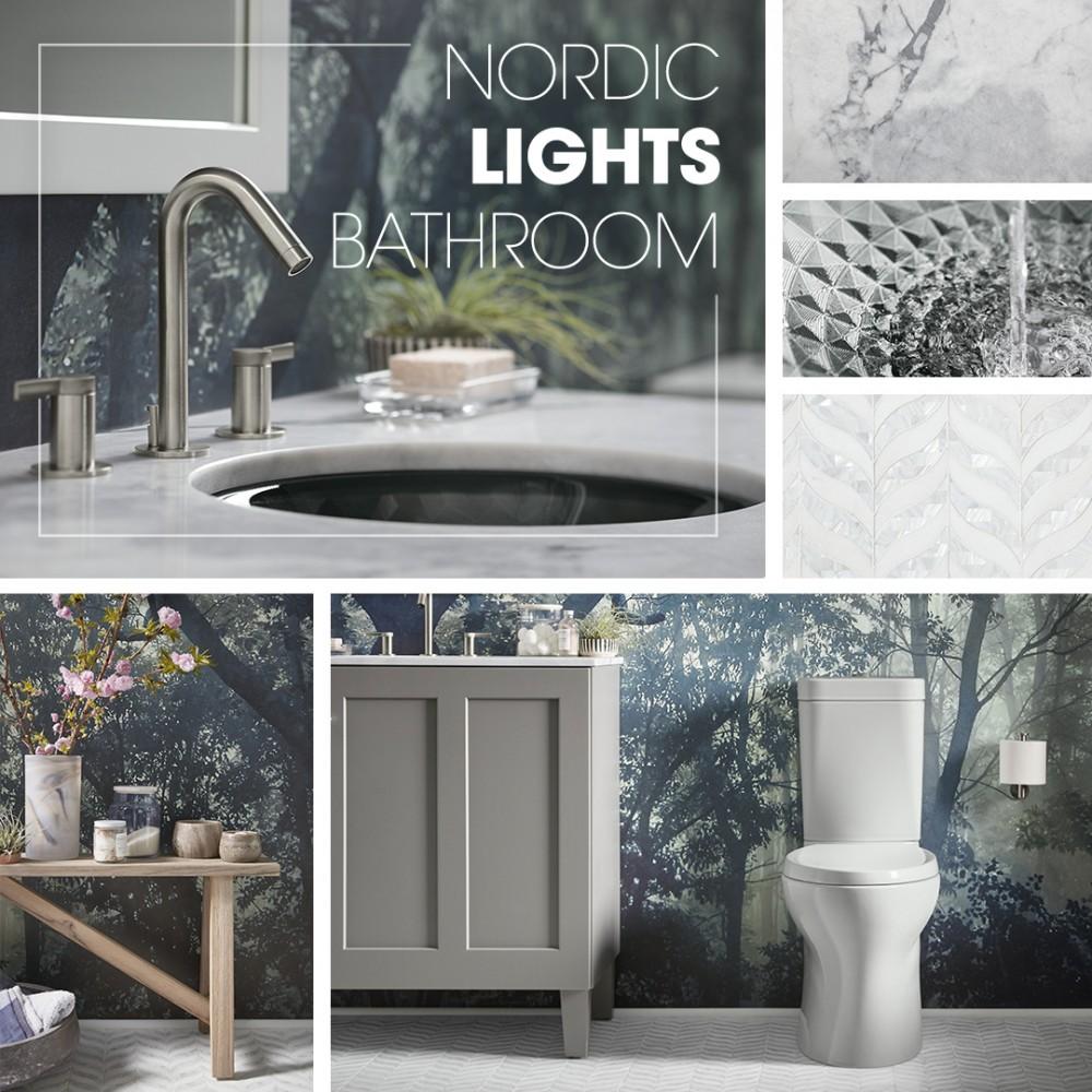 Nordic Lights Bathroom