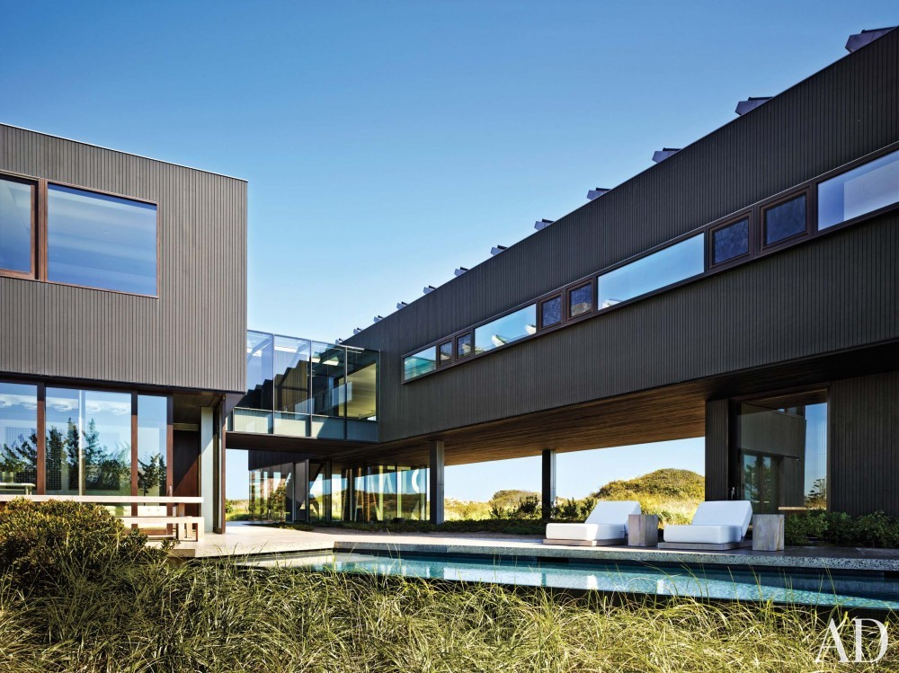 Contemporary Exterior by Christoff:Finio Architecture in The Hamptons, NY
