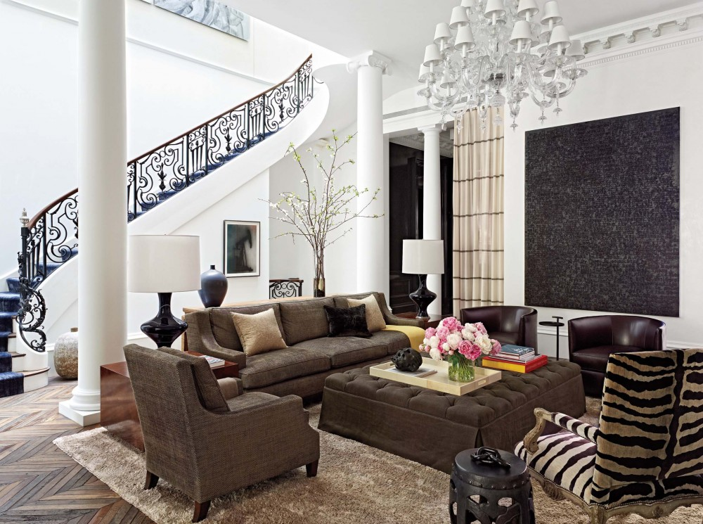 Modern Living Room By Wells Fox By Architectural Digest