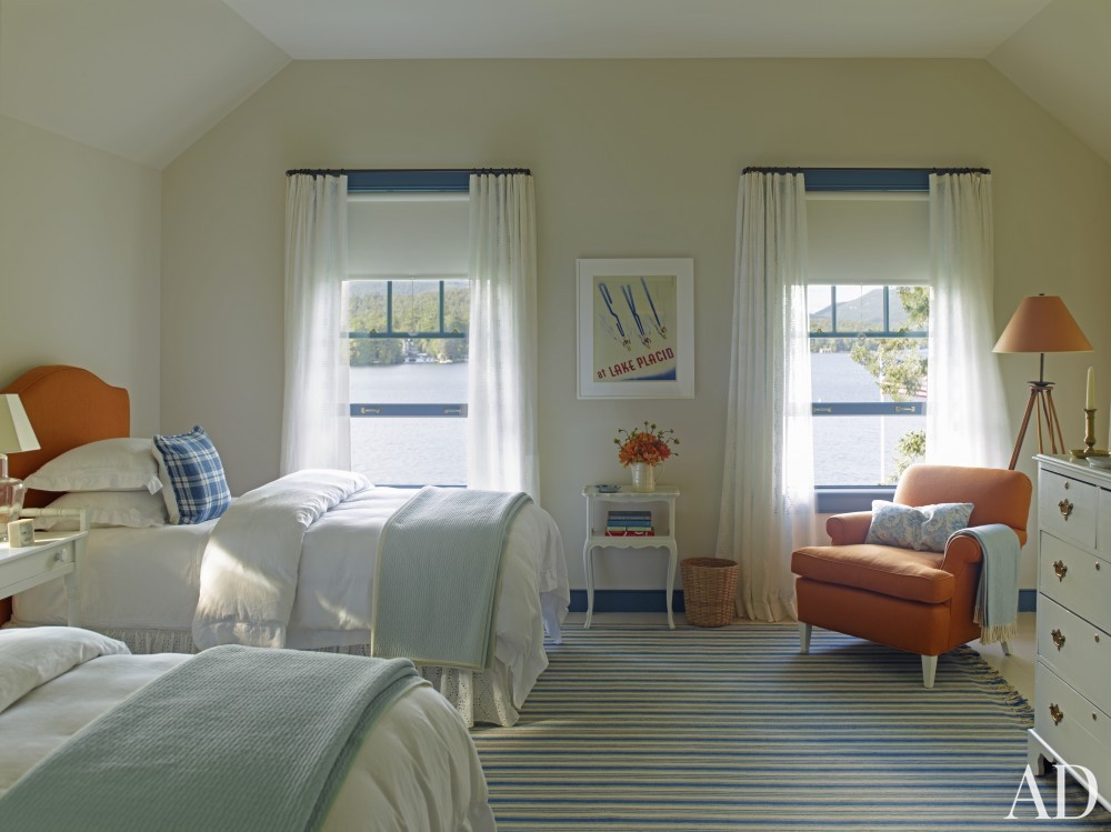 Traditional Bedroom and G. P. Schafer Architect in Lake Placid, NY
