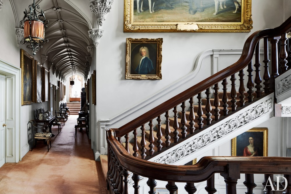 Traditional Staircase/Hallway in County Offaly, Ireland