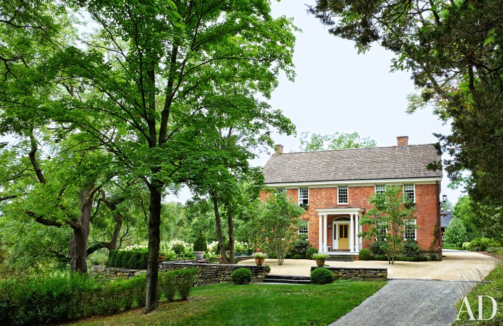 Traditional Exterior by D\'Aquino Monaco and D\'Aquino Monaco in Hudson River Valley, NY
