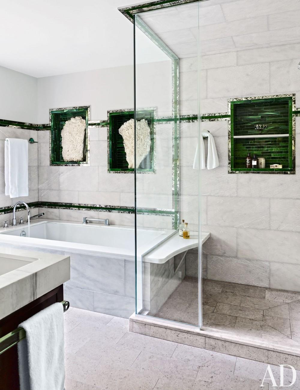 Traditional Bathroom by D\'Aquino Monaco and D\'Aquino Monaco in Hudson River Valley, NY