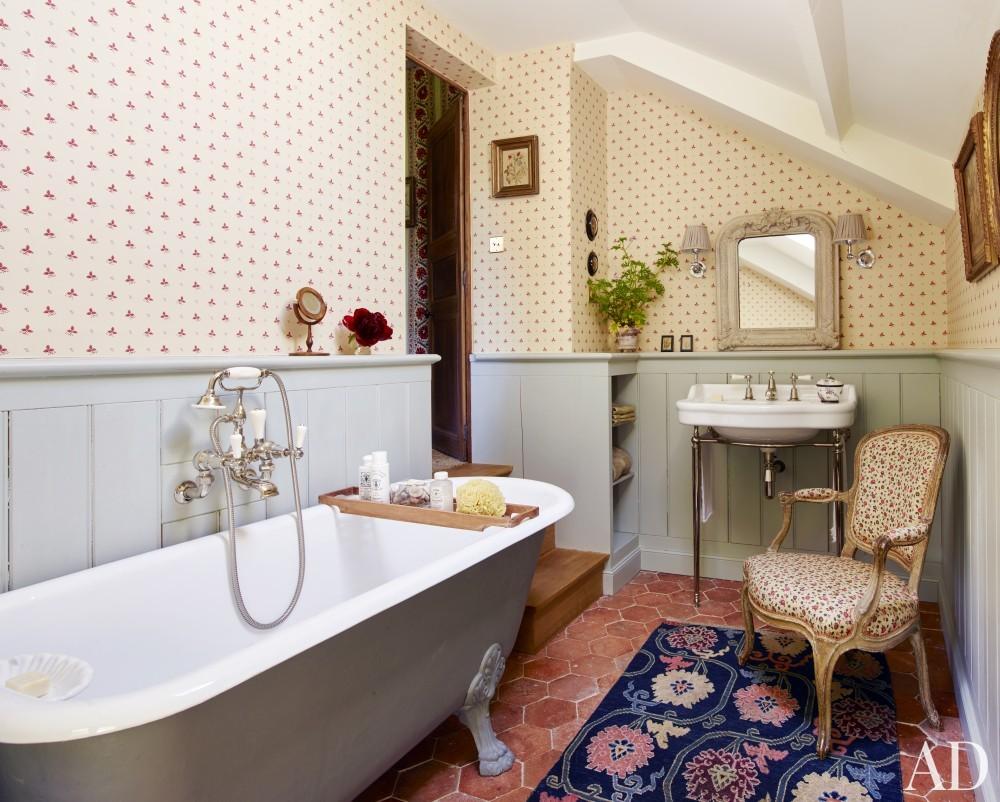 Bathroom in Normandy, France
