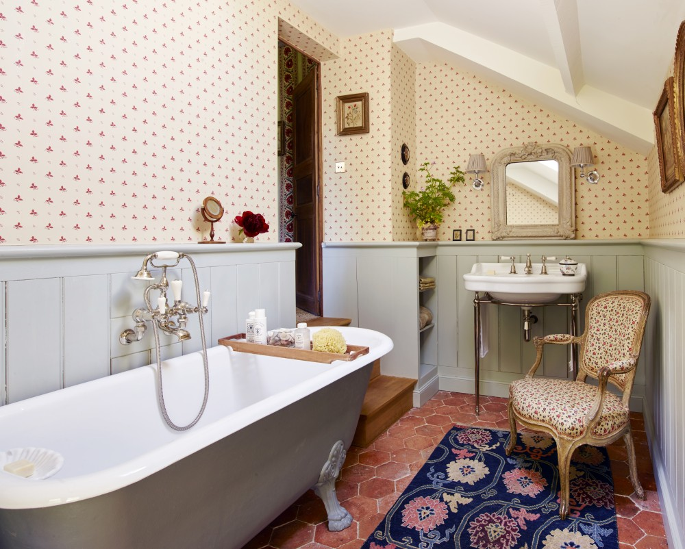 Bathroom by architectural digest ad designfile home for Architectural digest bathroom ideas