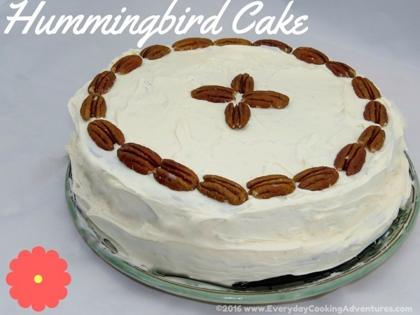 Southern living s hummingbird cake by everyday cooking for Table 52 hummingbird cake