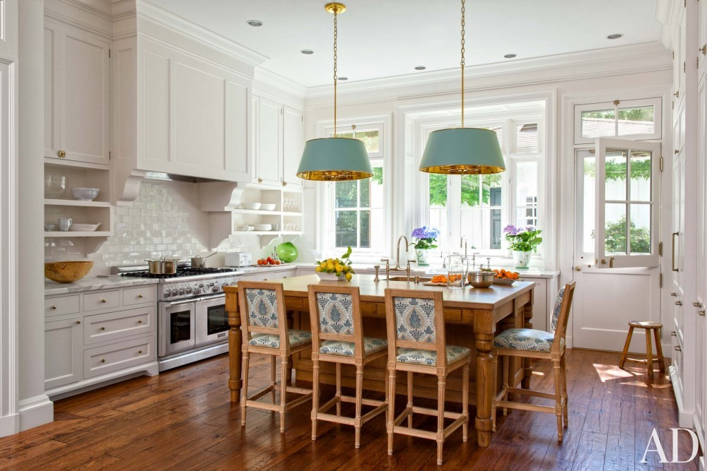 Traditional Kitchen by Miles Redd and Charlie Barnett in California
