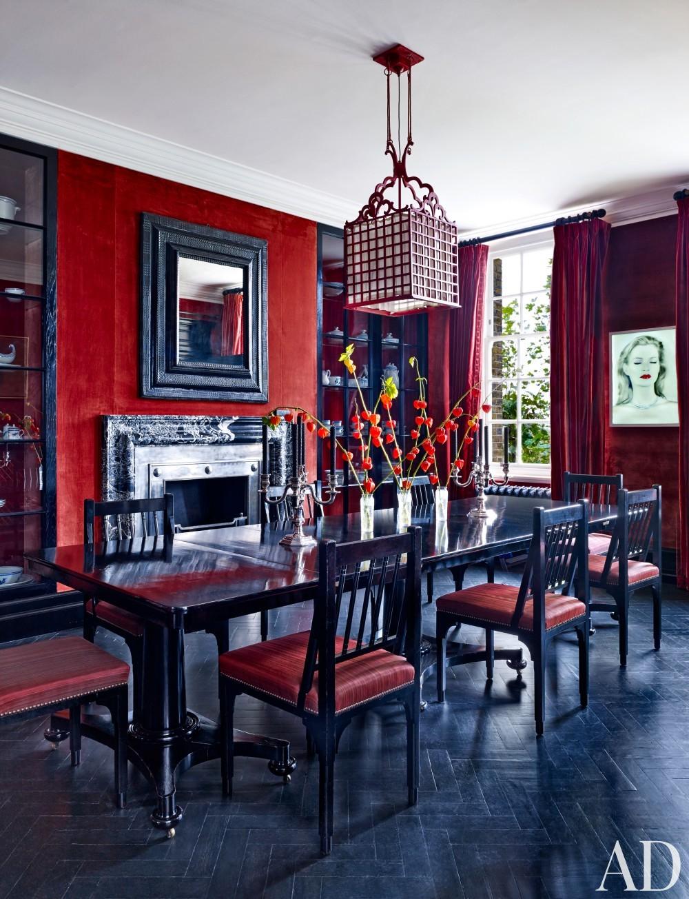 Modern Dining Room by Veere Grenney in London, UK