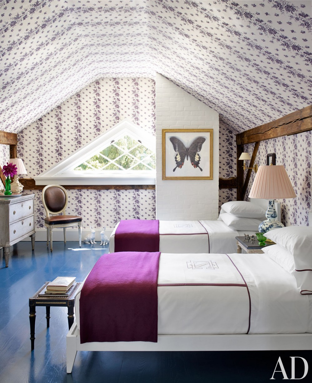 Traditional Bedroom by Harry Heissmann and Jonathon Parisen in Hudson Valley, NY