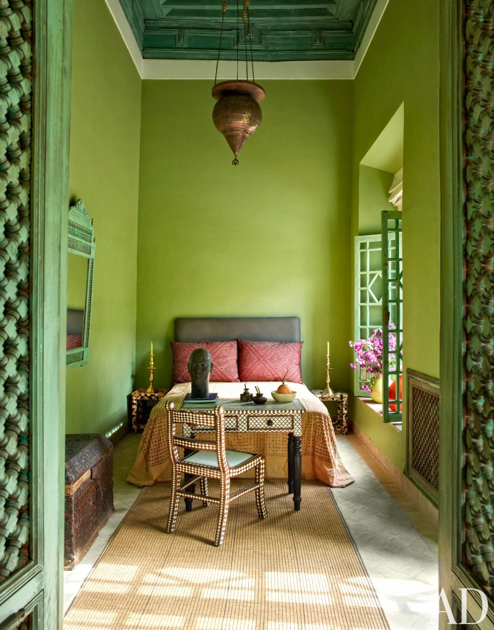 Exotic Bedroom by Ahmad Sardar-Afkhami in Marrakech, Morocco