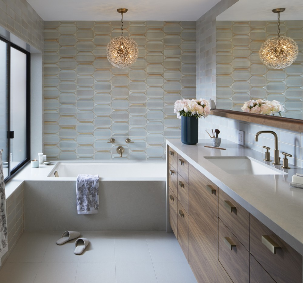 California Dream Home: Master Bathroom