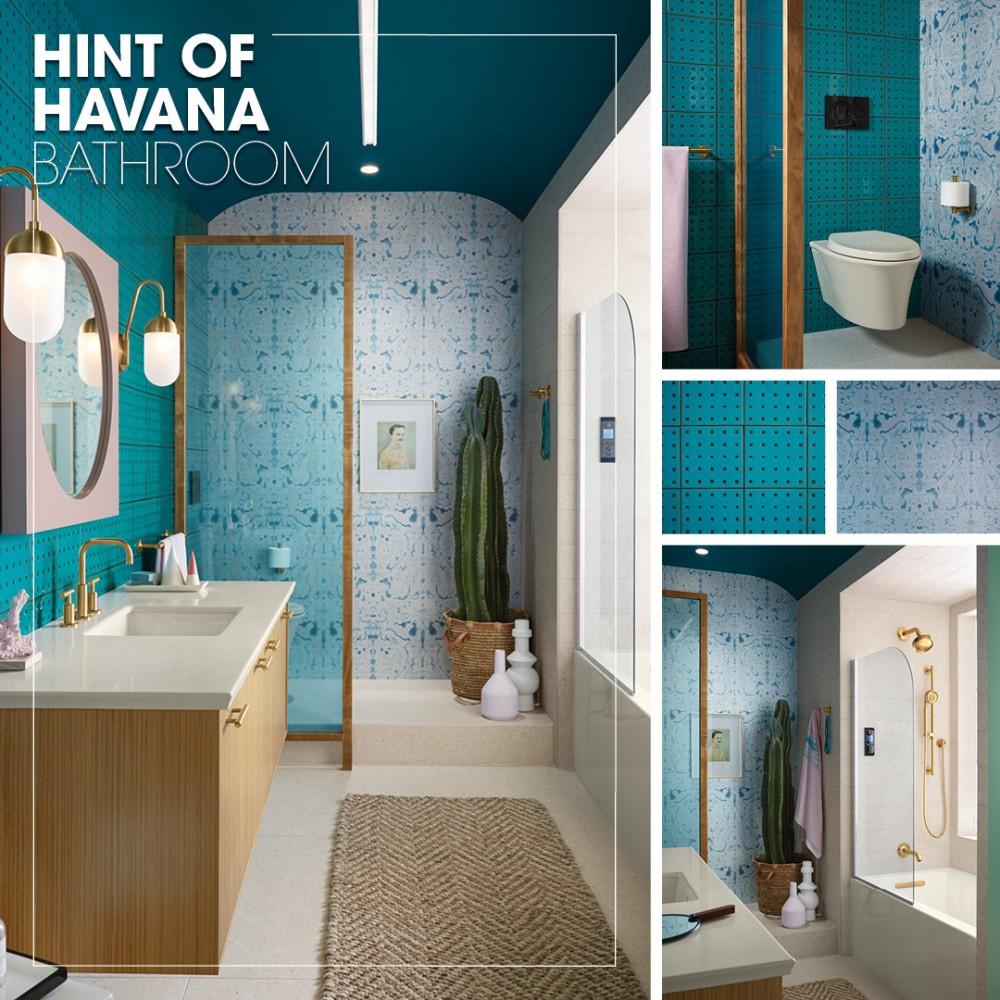Hint of Havana Bathroom | Kohler Ideas