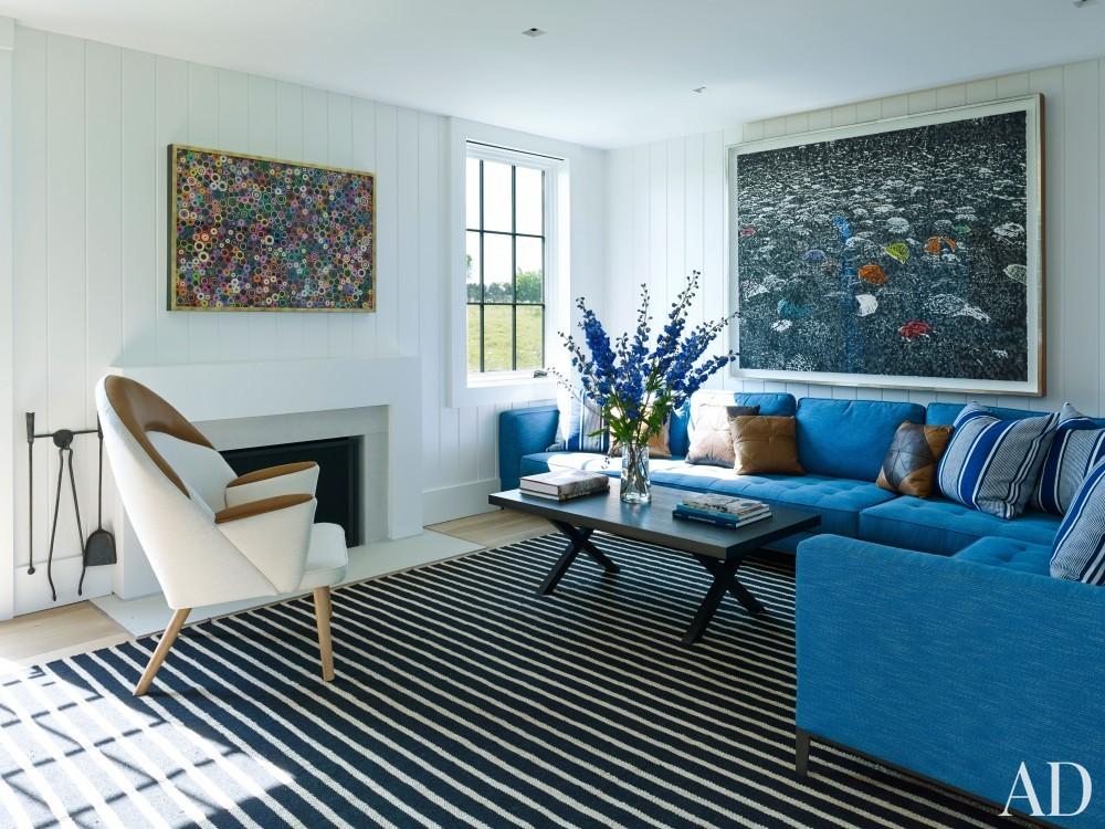 Modern Living Room by Ashe + Leandro and Ashe + Leandro in Martha\'s Vineyard, MA