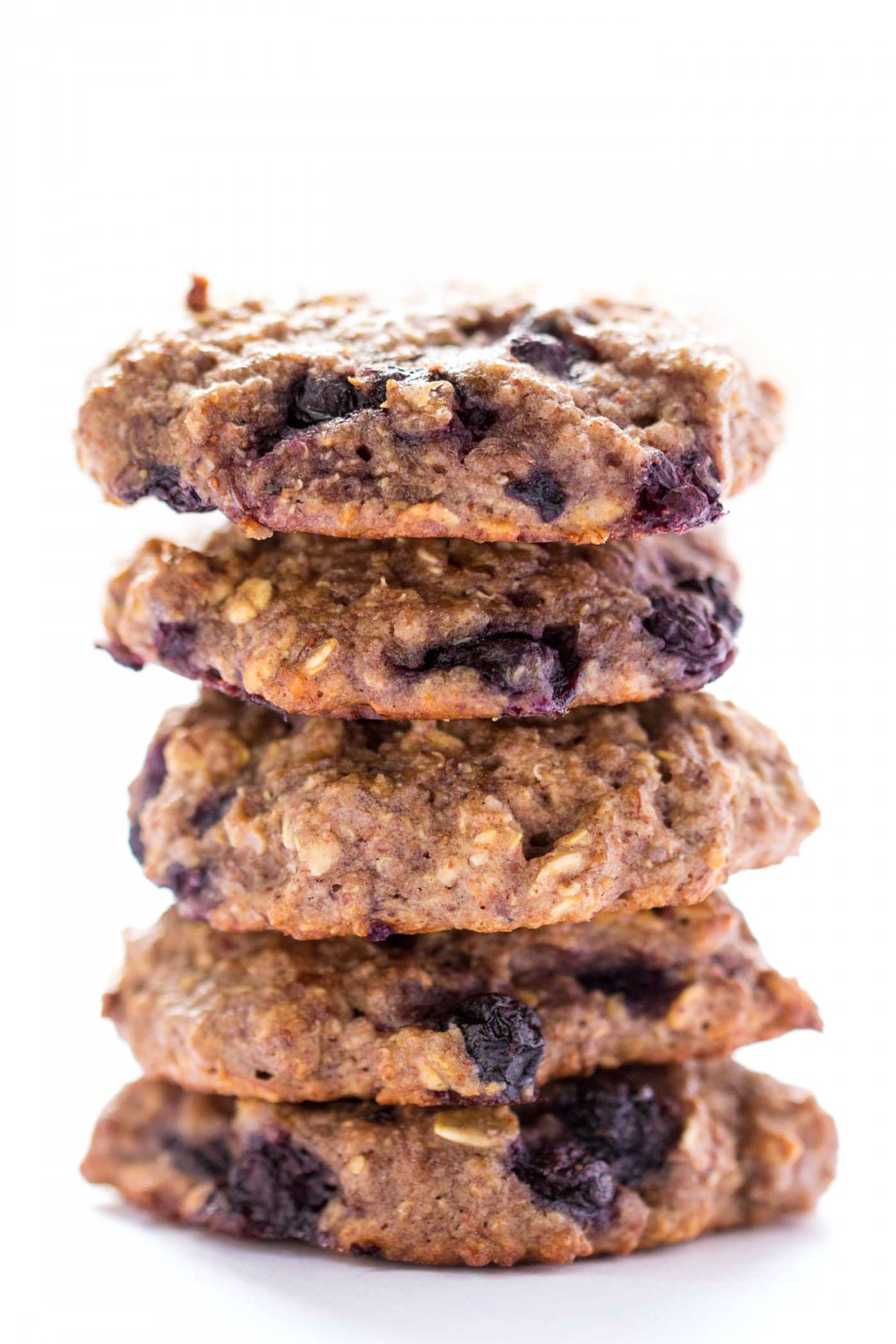 Blueberry Muffin Quinoa Breakfast Cookies by Alyssa Rimmer ...