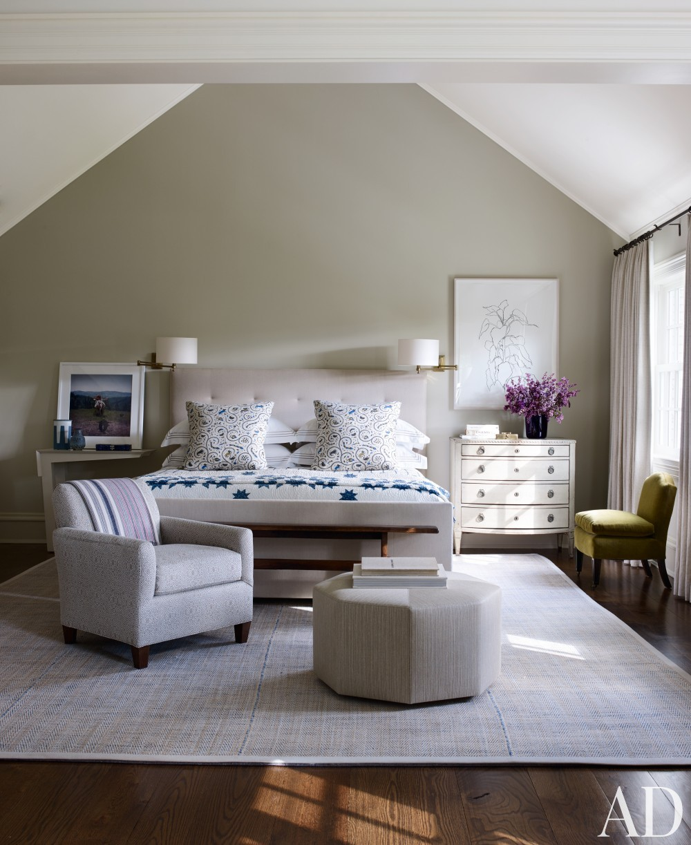 Bedroom by Mark Cunningham in Northwestern Connecticut