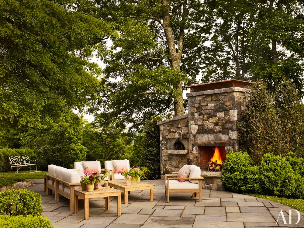 Outdoor Space by Mark Cunningham in Northwestern Connecticut