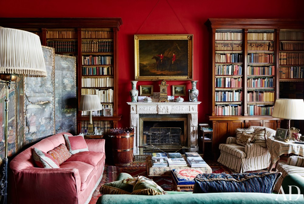 Traditional Office/Library in County Offaly, Ireland