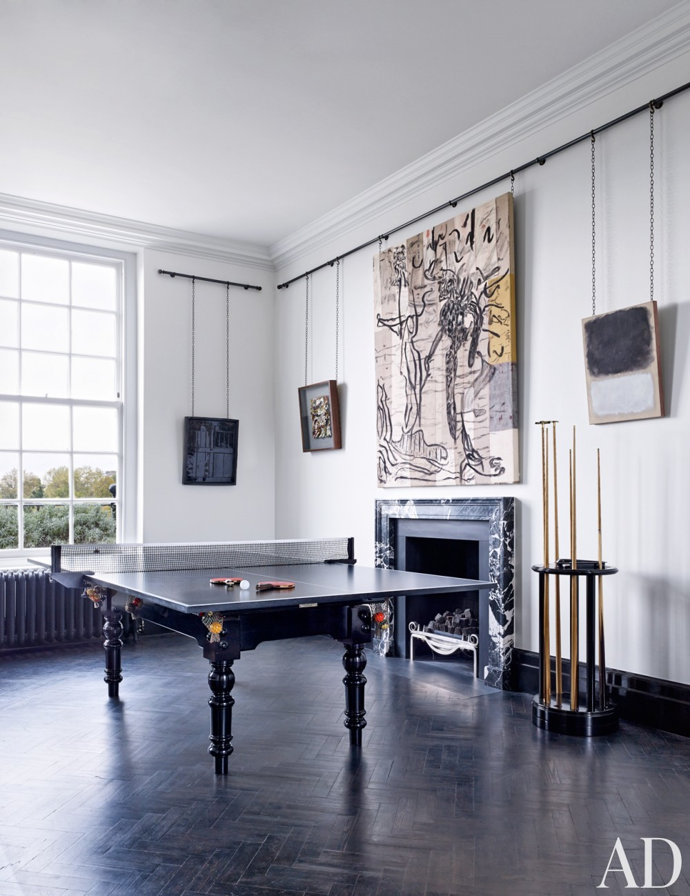 Modern Media/Game Room by Veere Grenney in London, UK