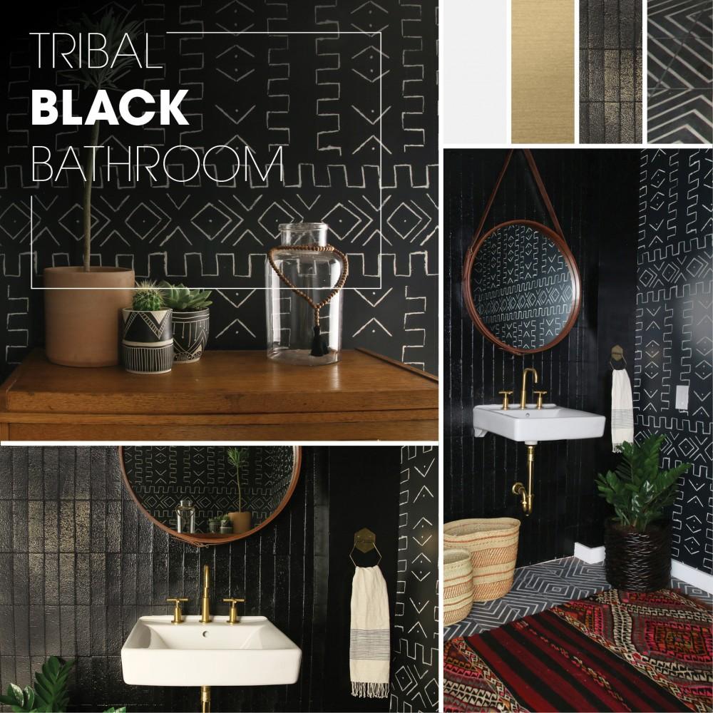 Tribal Black Bathroom Kohler Ideas