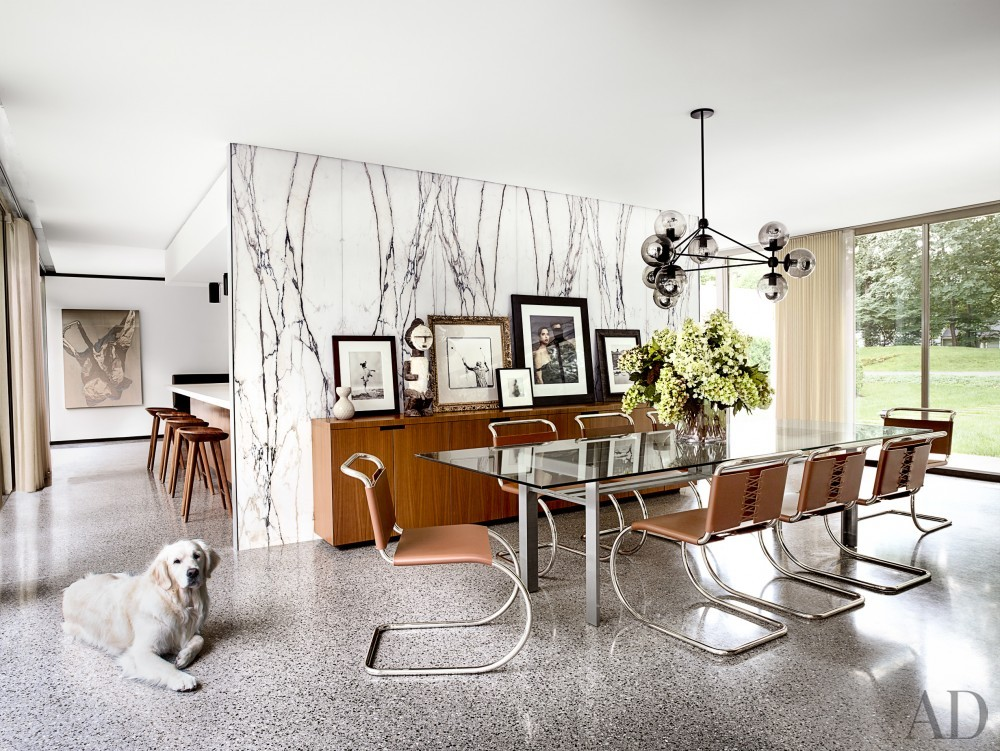 Dining Room by Brad Dunning in Briarcliff Manor, NY