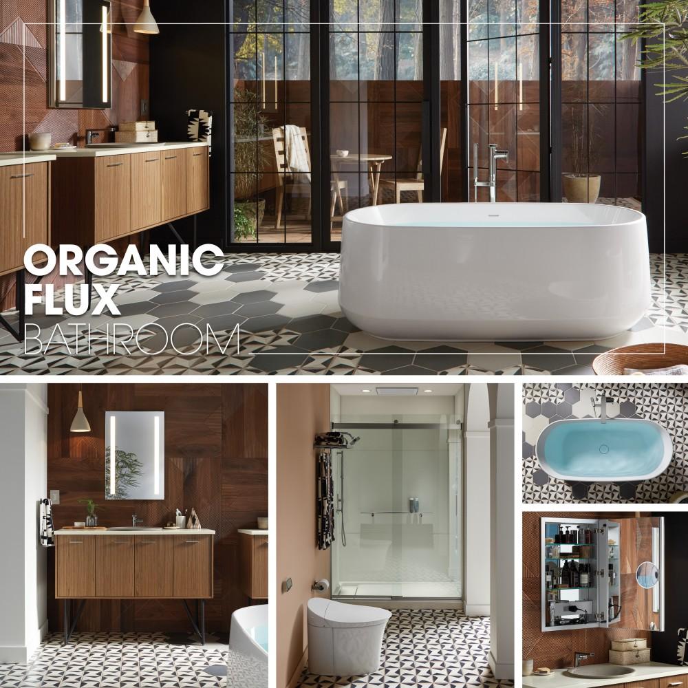 Organic Flux Bathroom