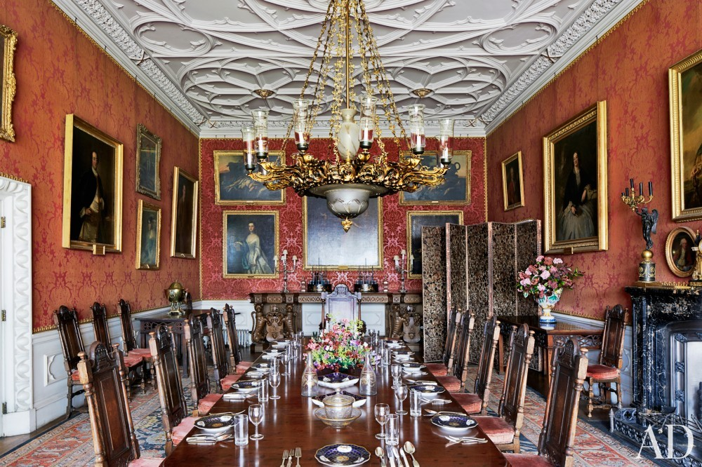 Traditional Dining Room in County Offaly, Ireland