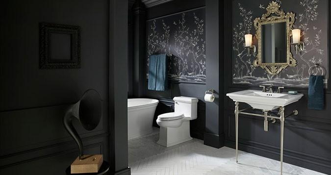 The bold look of kohler Kohler bathroom design services