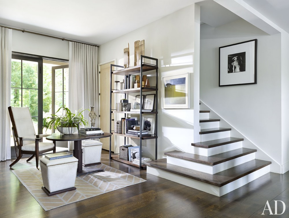 Modern Staircase/Hallway by Ray Booth in Nashville, TN