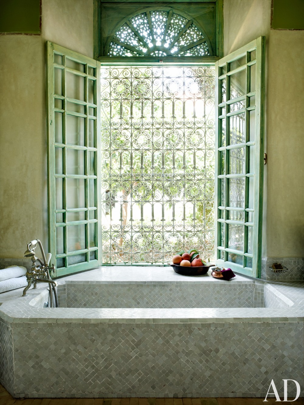 Exotic Bathroom by Ahmad Sardar-Afkhami in Marrakech, Morocco
