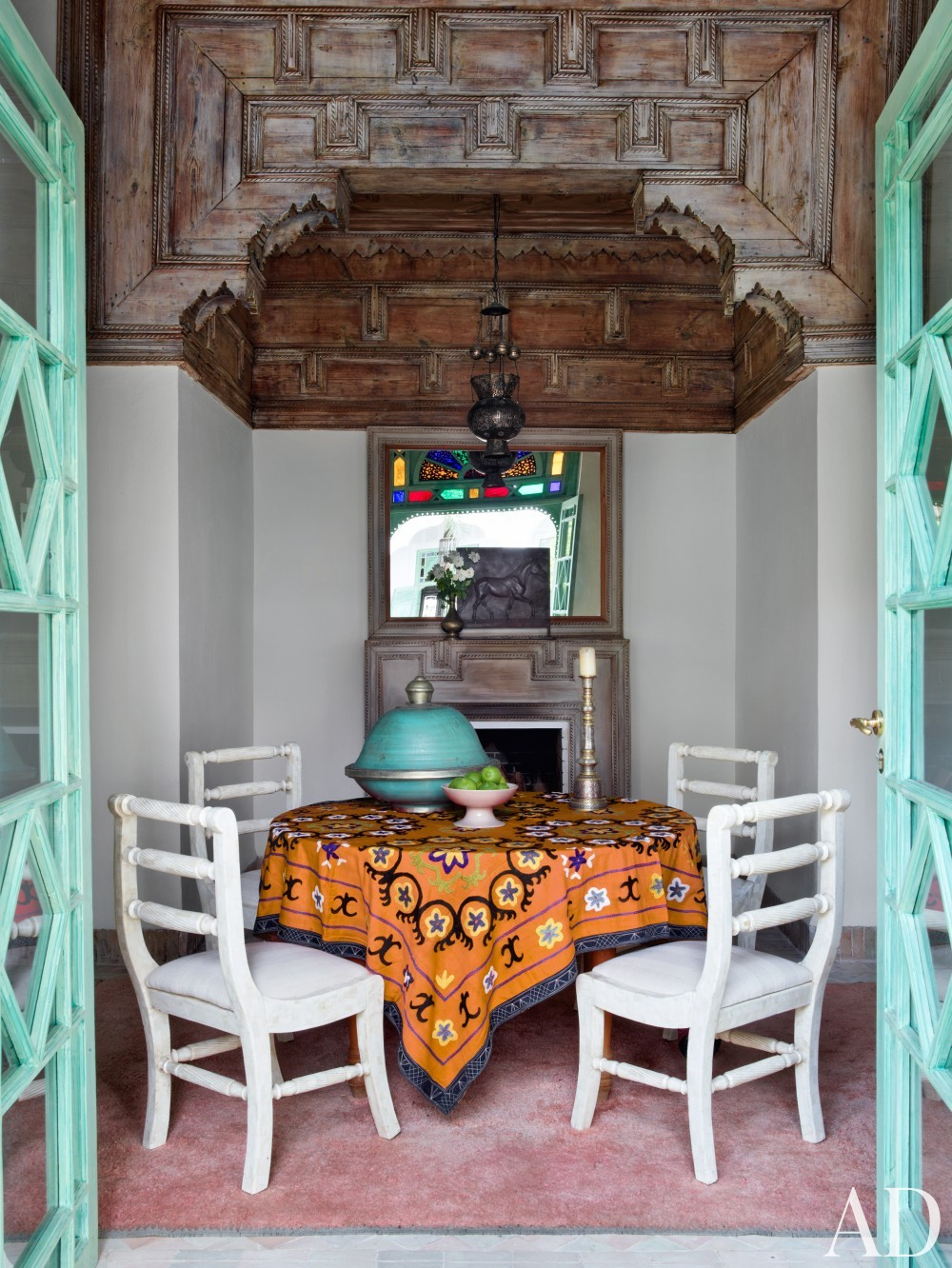 Exotic Dining Room by Ahmad Sardar-Afkhami in Marrakech, Morocco