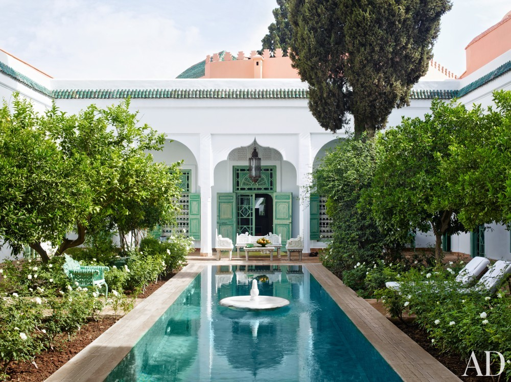 Exotic Pool by Ahmad Sardar-Afkhami in Marrakech, Morocco