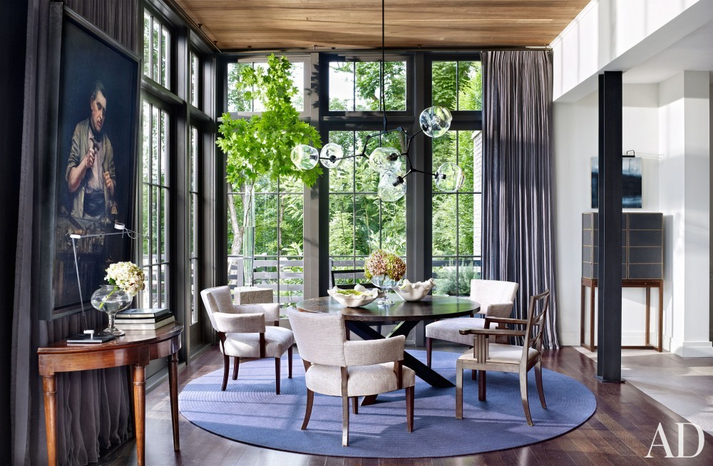 Modern Dining Room by Ray Booth in Nashville, TN