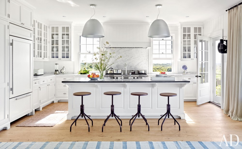 Beach Kitchen by Victoria Hagen and Botticelli & Pohl Architects in Nantucket, MA