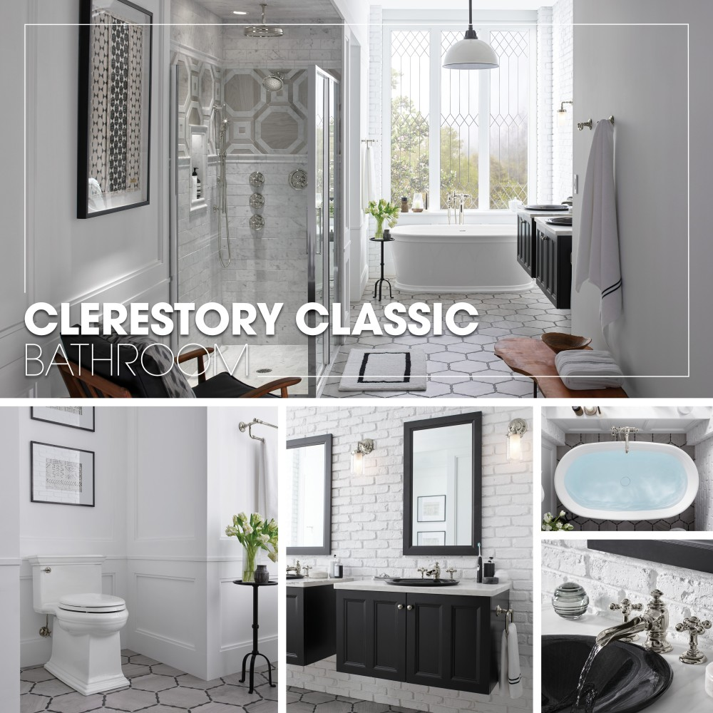 clerestory classic bathroom