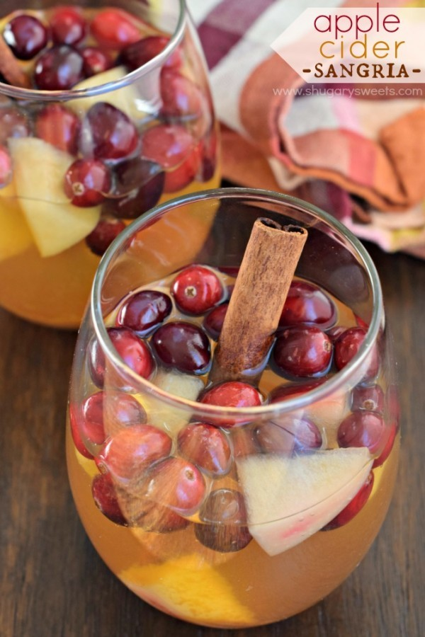 Apple Cider Sangria by Shugary Sweets | Epicurious Community Table