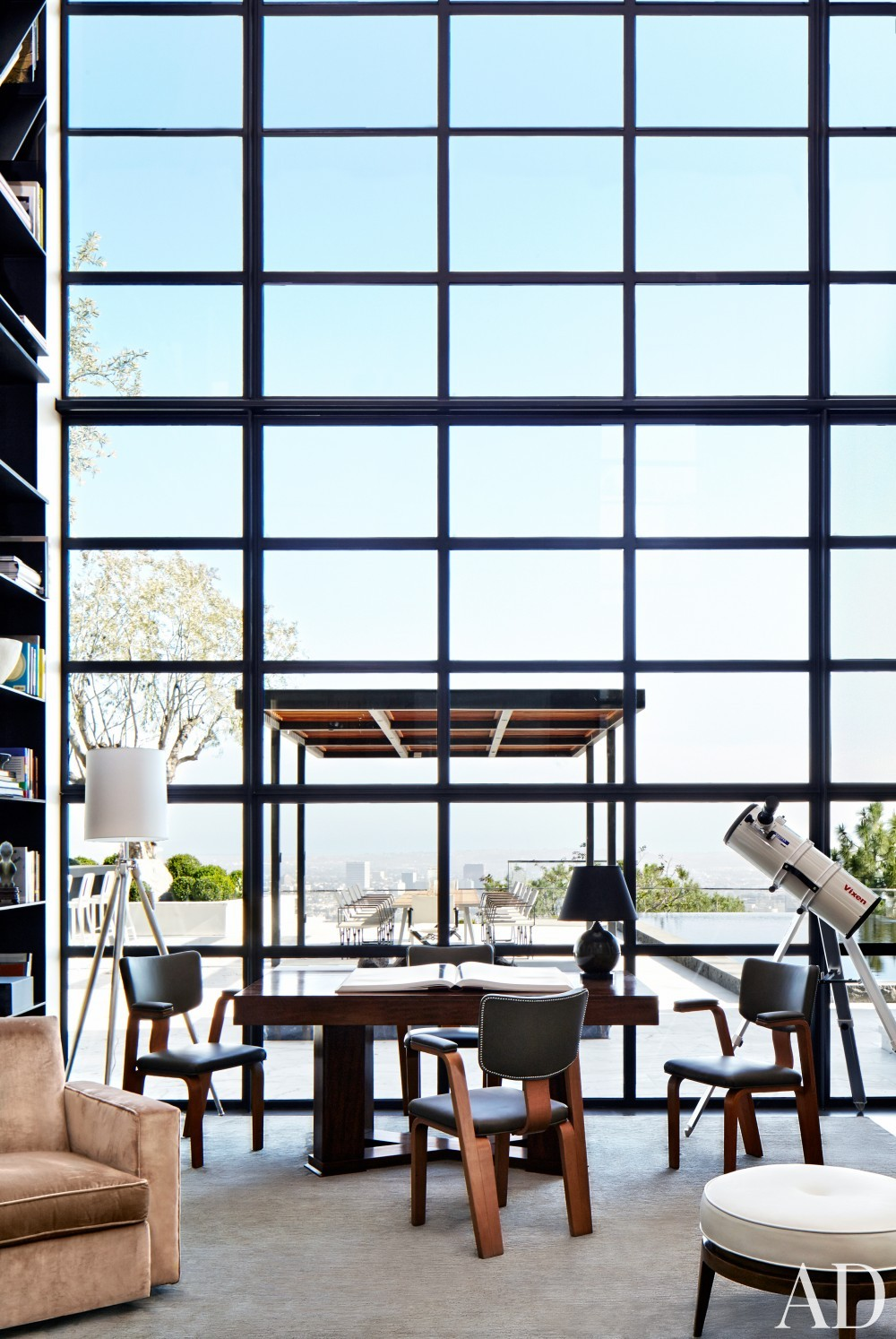 Office/Library by Dan Fink and Tim Murphy in Los Angeles, CA
