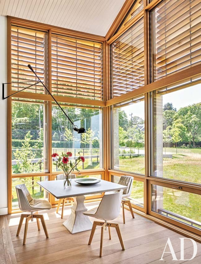 Beach Living Room by Leroy Street Studio in Woods Hole, Massachusetts