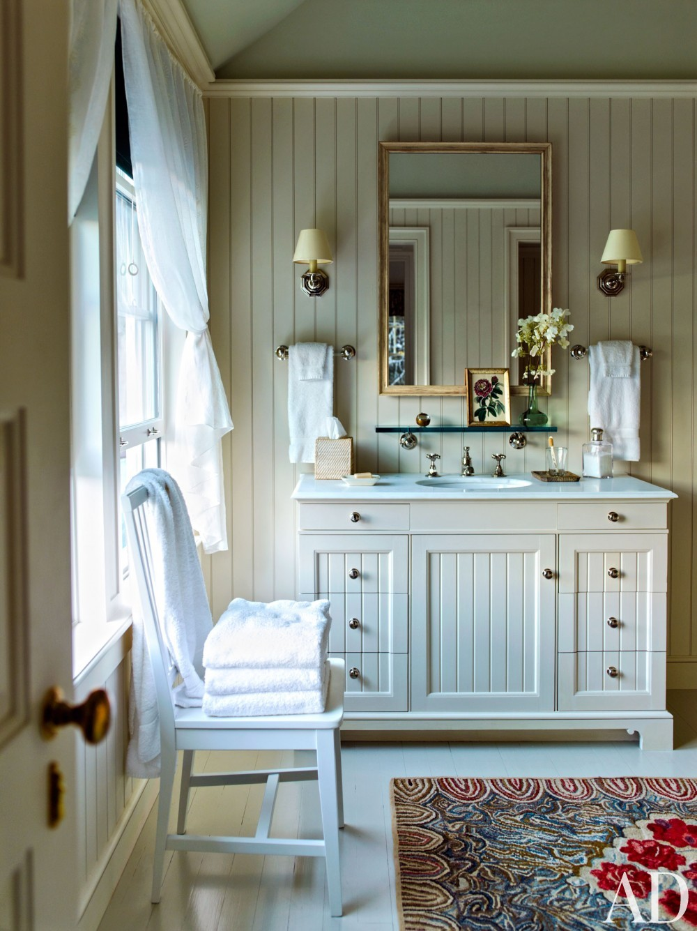 Traditional Bathroom and G. P. Schafer Architect in Lake Placid, NY