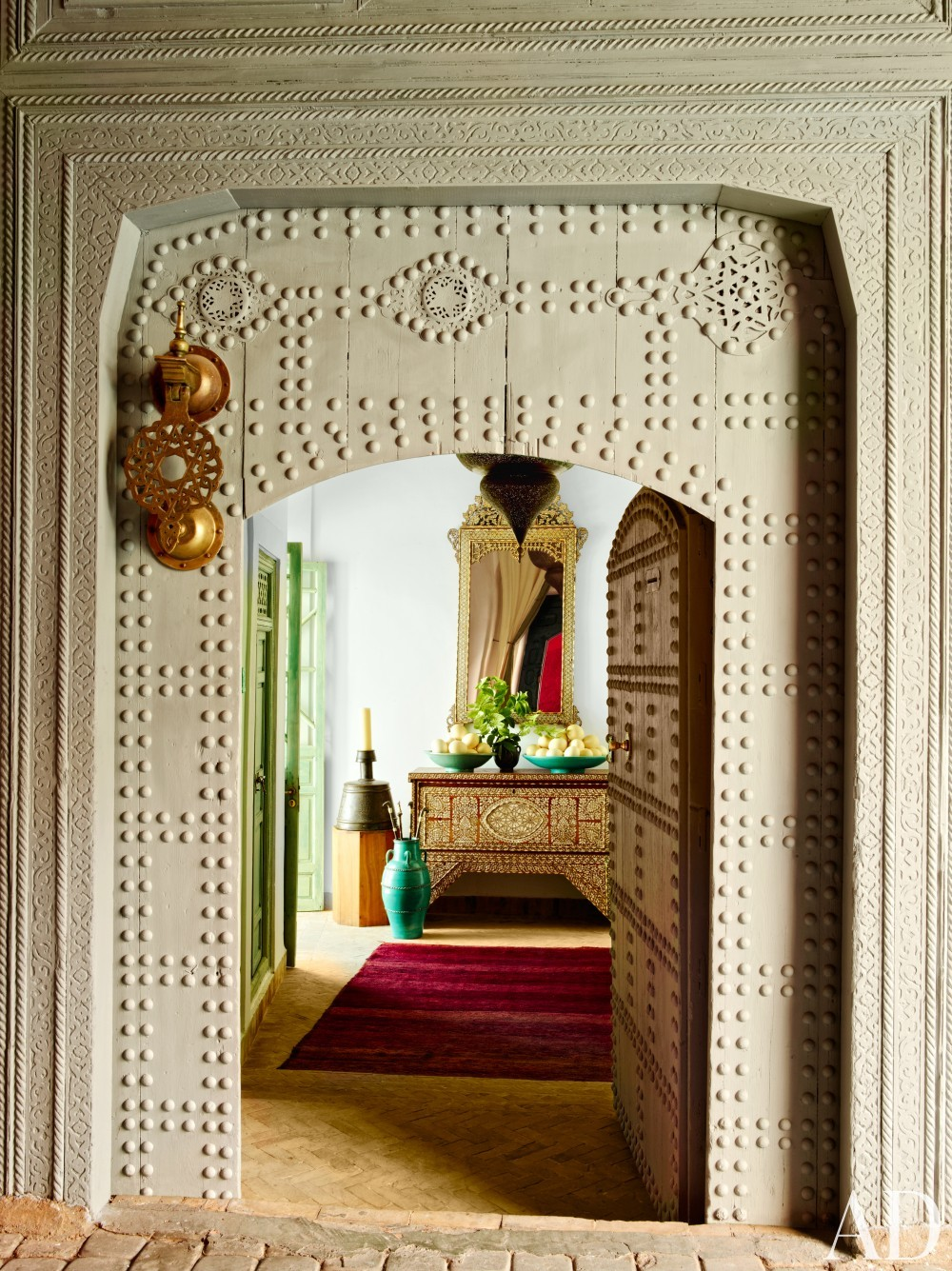 Exotic Entrance Hall by Ahmad Sardar-Afkhami in Marrakech, Morocco