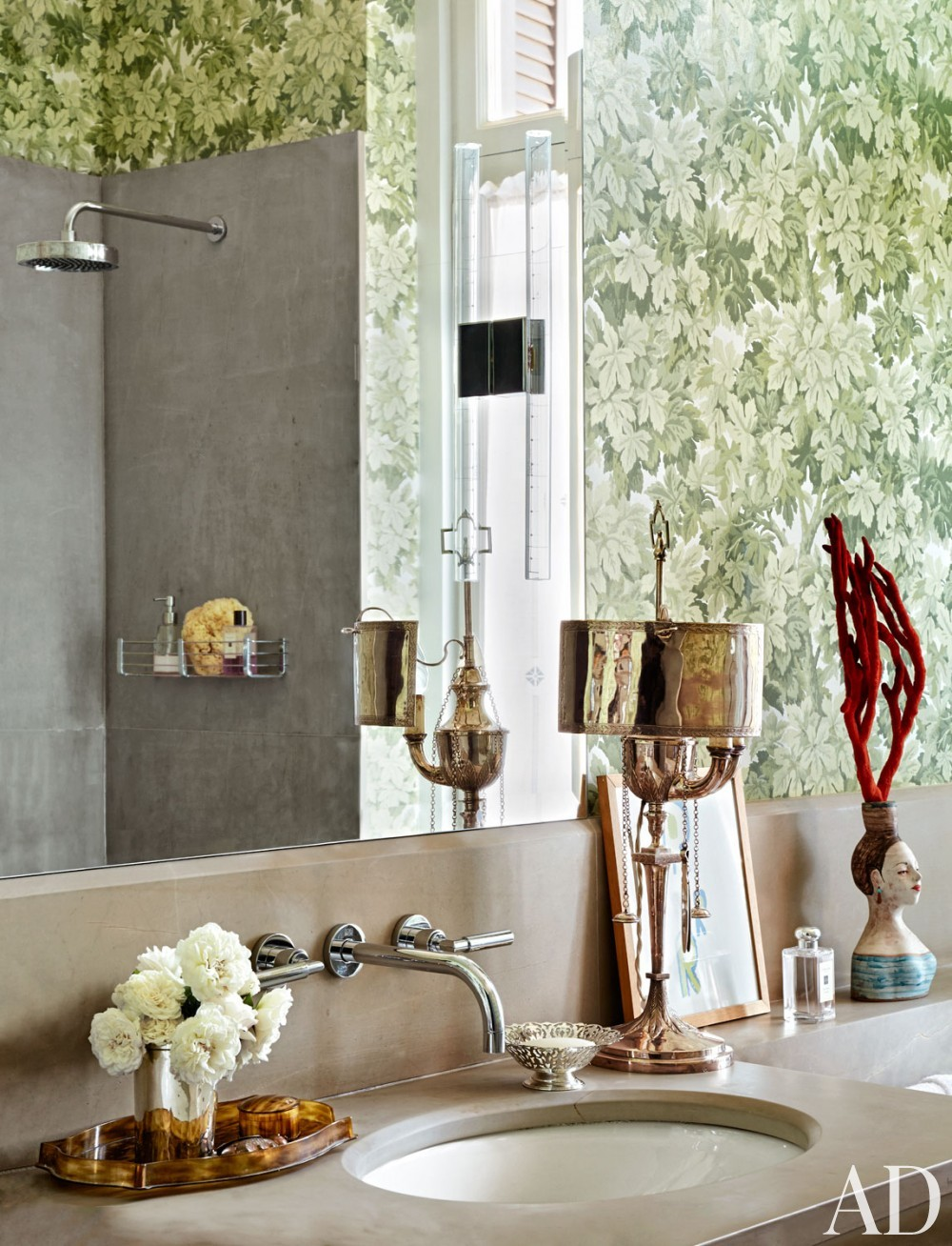 Modern Bathroom by Allegra Hicks and Paolo Cattaneo in Naples, Italy