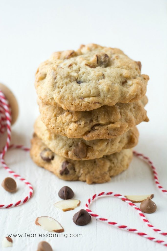 Gluten Free Peanut Butter Chocolate Chip Cookies Epicurious