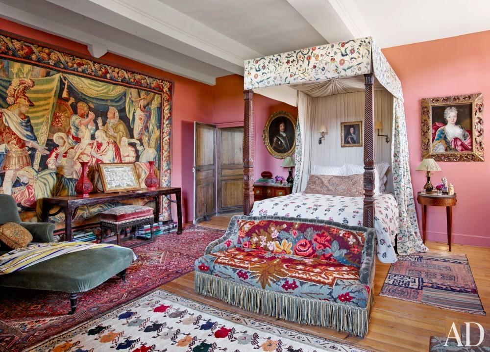 Bedroom in Normandy, France