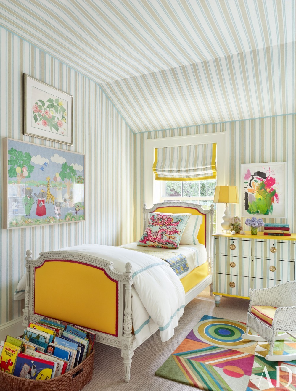 Exotic Bedroom by Nick Olsen and Baxt Ingui Architects in Brooklyn, NY