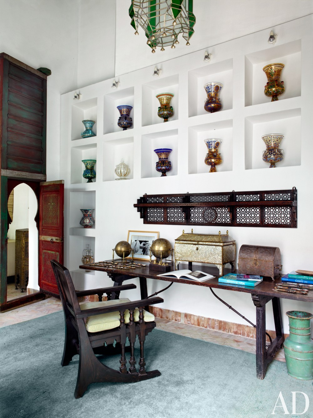 Exotic Bedroom by Ahmad Sardar-Afkhami in Marrakech, Morocco