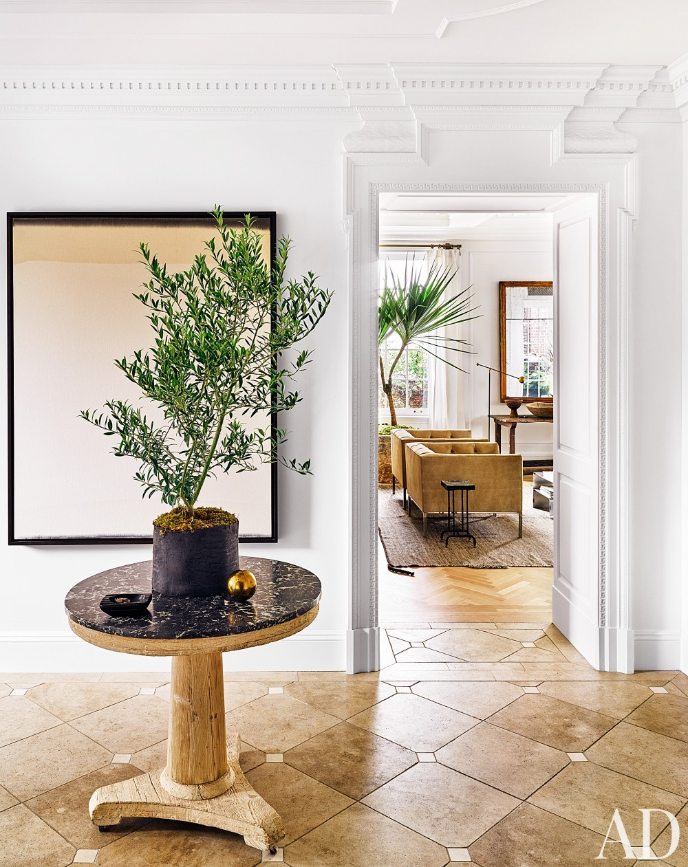 Entrance Hall by Nate Berkus and Jeremiah Brent in New York, NY