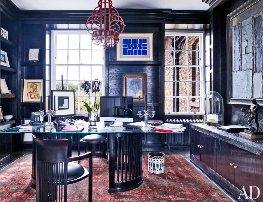 Modern Office/Library by Veere Grenney in London, UK